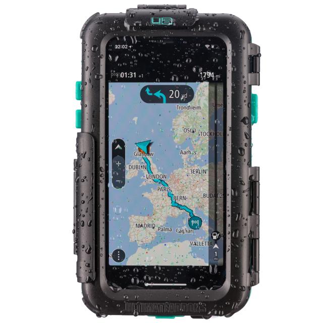 UA(ユーエー)iPhone 専用 ハードケース バイク 自転車 アウトドア 防水防塵耐震(IPX5) iPhone X 専用設計 ※マウント別売 UA-HARDWPIX