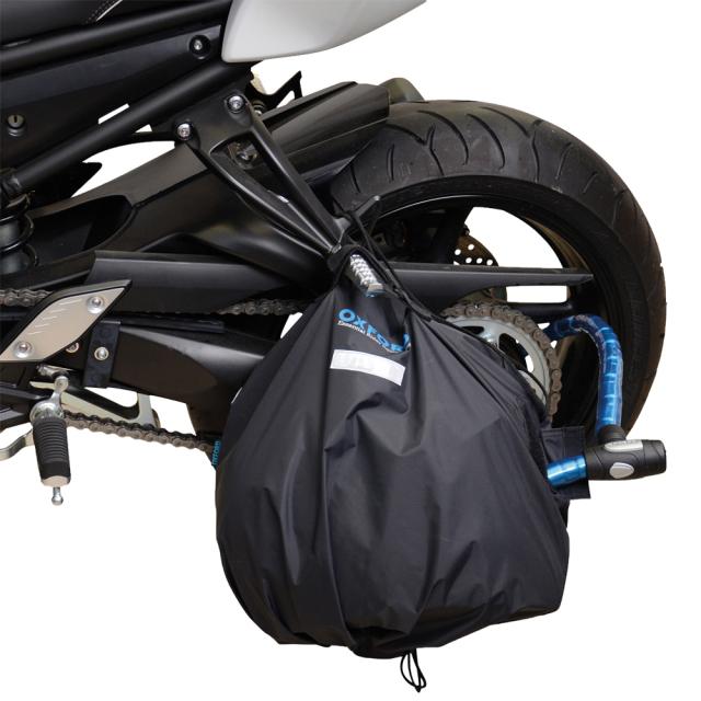 オックスフォード(OXFORD) バイク ヘルメットバッグ 全天候型 反射板付き OX624