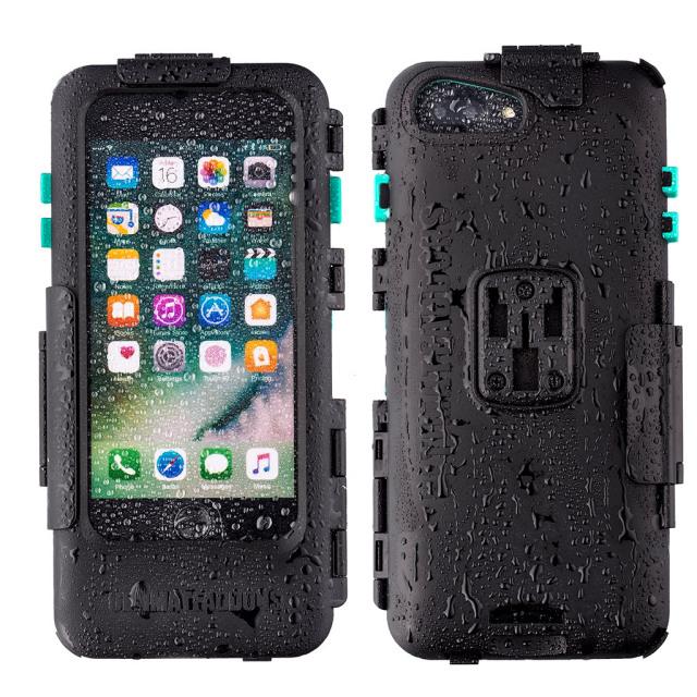 UA(ユーエー)iPhone Plus専用 ハードケース バイク 自転車 アウトドア 防水防塵耐震(IPX5) iPhone 6 Plus / 6S Plus / 7 Plus / 8 Plus 専用設計 ※マウント別売 UA-HARDWPI7PLUS
