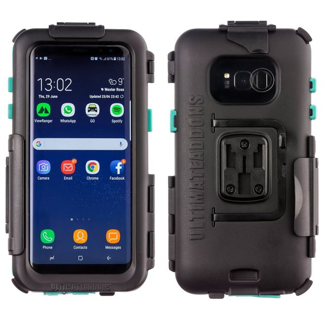 UA(ユーエー)Galaxy S8 専用 ハードケース バイク 自転車 アウトドア 防水防塵耐震(IPX5) Galaxy S8 専用設計 ※マウント別売 UA-HARDWPS8