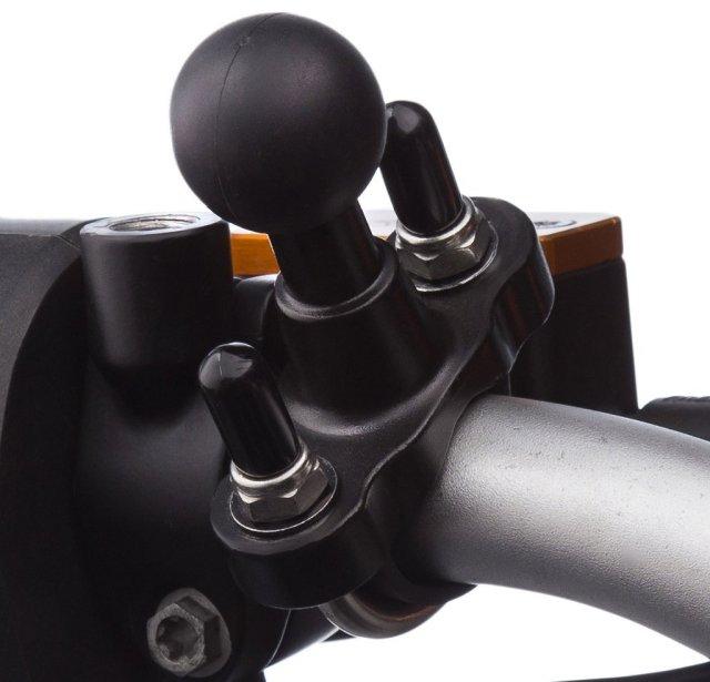 UA(ユーエー)専用 ボールマウント U字型 2種類のUボルト付属 対応径16-20 / 25-32 mm 左右上下360度回転可 ※ホルダー及びアダプター 別売 UA-UBOLT