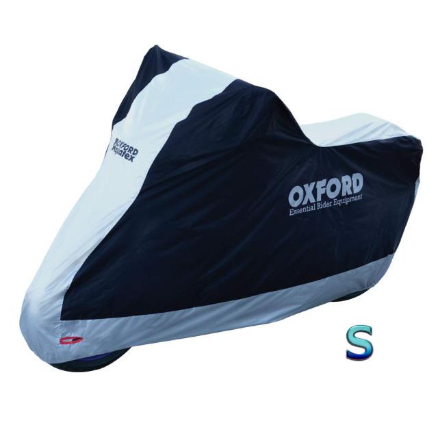 オックスフォード(OXFORD) バイクカバー Sサイズ 防雪 防雨 防塵 紫外線防止 屋内・屋外両用 盗難防止 Aquatex CV200JDS