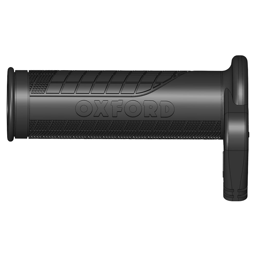 OXFORD バイク用 ホットグリップ スイッチ分離型 バーエンド貫通型 プレミアムツーリング OF691