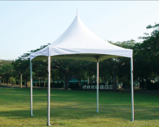 防炎アルミ製テント