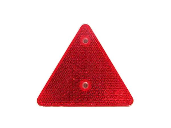 三角リフレクター(2穴)白枠