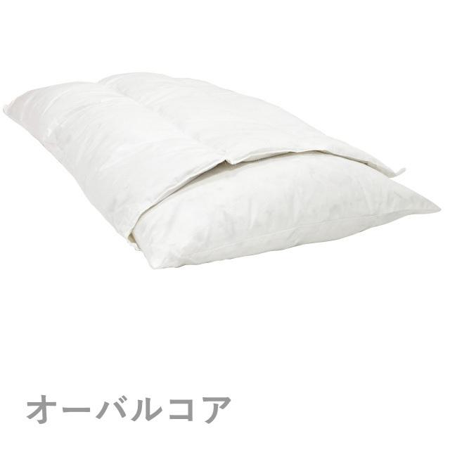 ロフテー快眠枕 オーバルコアピロー 高さを選ぶセミオーダータイプ