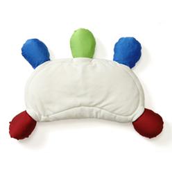 《こどものひとり寝をサポートする枕》 むにゅまくら