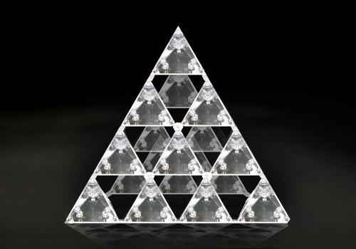 正四面体 ゴッドピラミッド