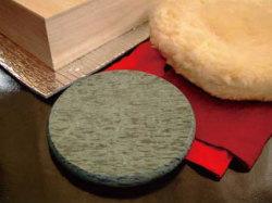オーラホットストーン円盤型Lセット[レンジでチンして使う遠赤外線が放射され体がポカポカになる石]