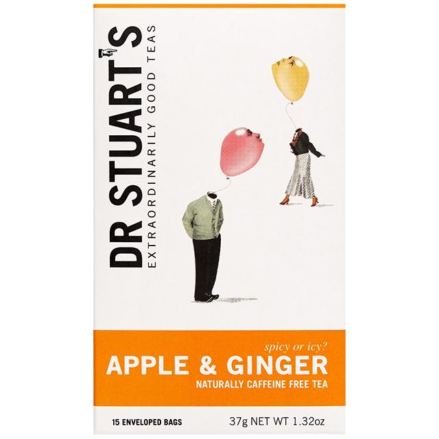 Dr.スチュアートのハーブティー Dr.Stuart's APPLE & GINGER(ドクタースチュアート アップル&ジンジャー)ティーバッグ15袋入