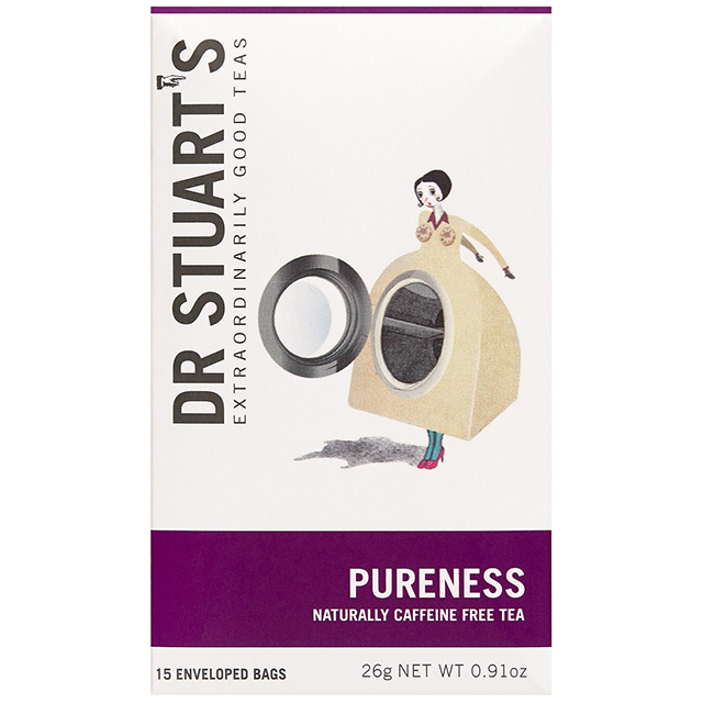 Dr.スチュアートのハーブティー Dr.Stuart's PURENESS(ドクタースチュアート ピュアネス)ティーバッグ15袋入