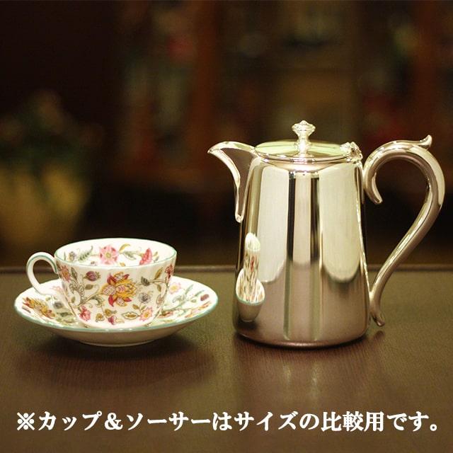 【中古】harrods(ハロッズ)ホテル用コーヒーポット HR-718【アンティーク】【イギリス製】【シルバー】