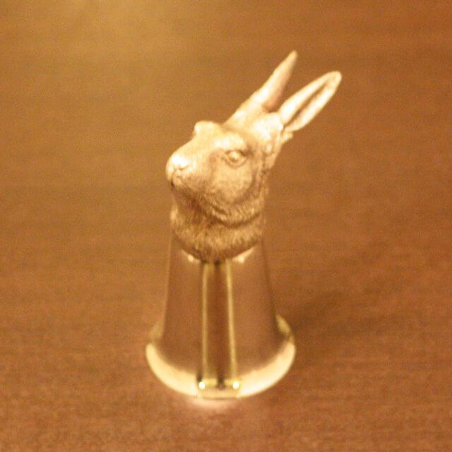 【中古】Mappin&Webb(マッピン&ウェッブ)BARアクセサリー(ウサギ) MW-133【アンティーク】【イギリス製】