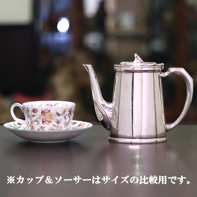 【中古】Mappin&Webb(マッピン&ウェッブ) 業務用コーヒーポット MW-281【アンティーク】【イギリス製】【シルバープレート】