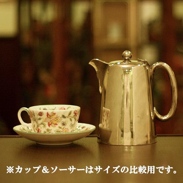 【中古】SHEFFIELD(シェフィールド) 業務用コーヒーポット sh-871【アンティーク】【イギリス製】【シルバー】