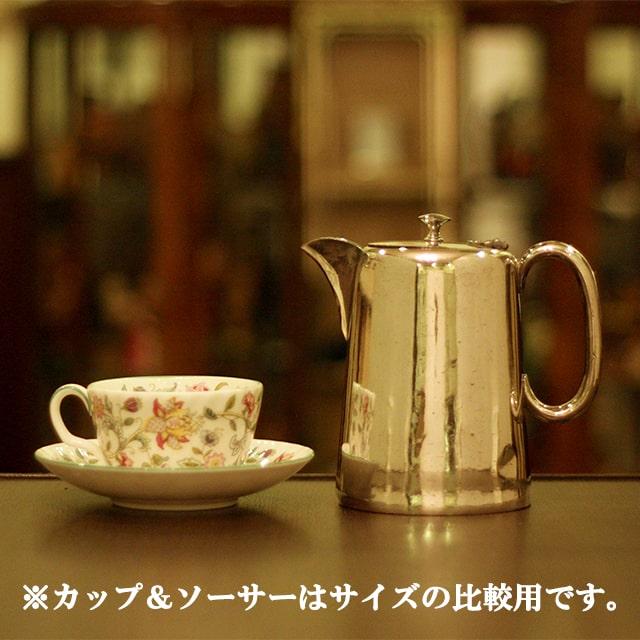 【中古】SHEFFIELD(シェフィールド) 業務用コーヒーポット sh-872【アンティーク】【イギリス製】【シルバー】