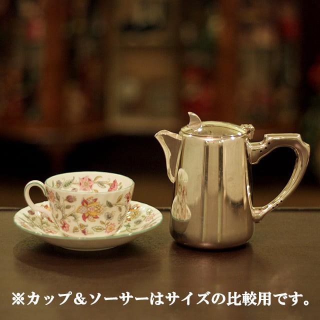 【中古】SHEFFIELD(シェフィールド) 業務用コーヒーポット sh-907【アンティーク】【イギリス製】【シルバー】