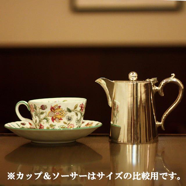【中古】SHEFFIELD(シェフィールド) ホテル用コーヒーポット sh-917【アンティーク】【イギリス製】【シルバー】