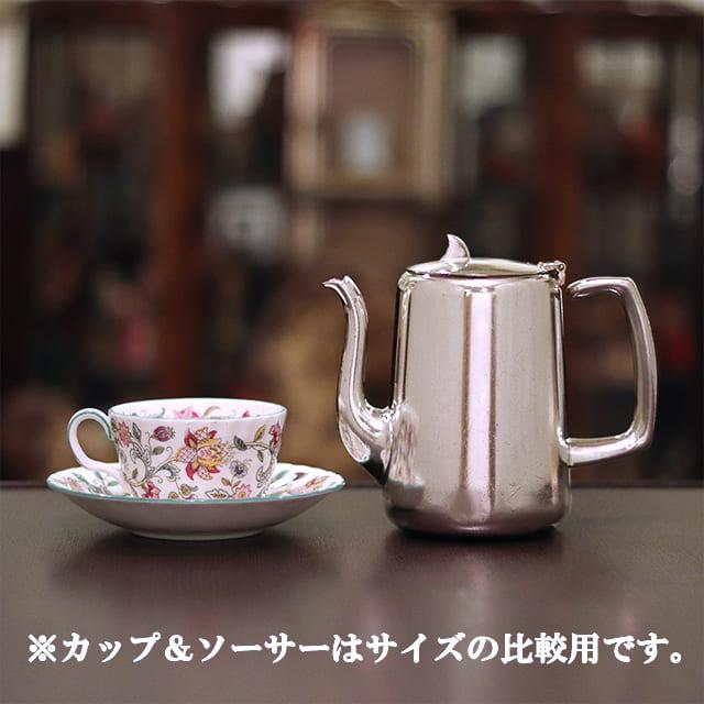 【中古】SHEFFIELD(シェフィールド) 業務用コーヒーポット sh-960【アンティーク】【イギリス製】【シルバープレート】