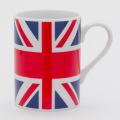 陶器製マグカップ(ユニオンジャック柄)