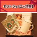 【ギフト包装無料】茶漉し付ティーマグ(無地)+紅茶50gアルミパック入(セイロン・ディンブラティー、ヌワラエリヤティー)のギフトセット