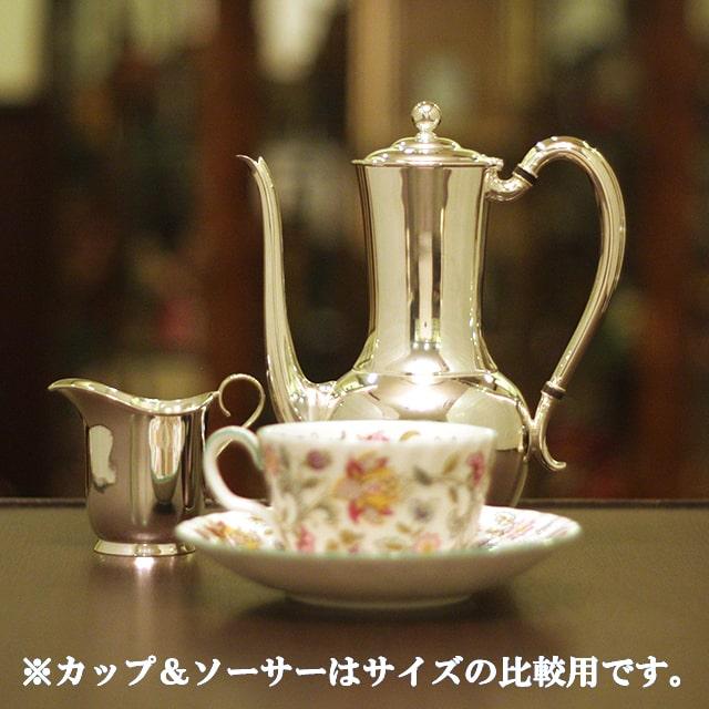【中古】Tiffany(ティファニー)家庭用2点ティーセット tf-100【アンティーク】【アメリカ製】【シルバープレート】