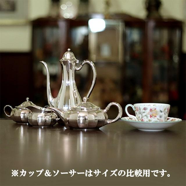 【中古】Tiffany(ティファニー)家庭用4点ティーセット tf-107【アンティーク】【アメリカ製】