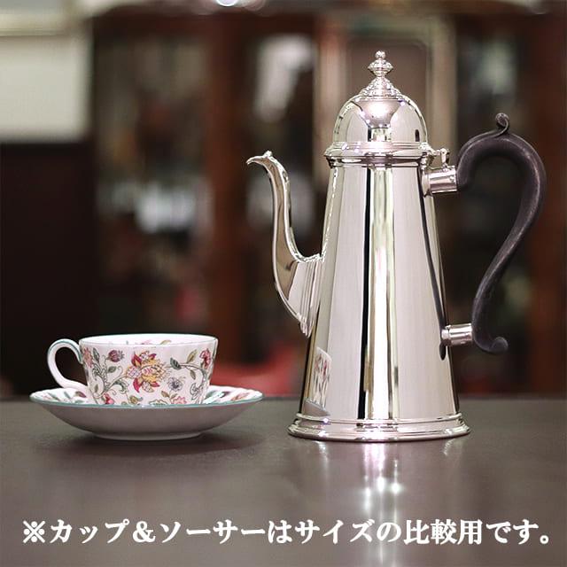 【中古】Tiffany(ティファニー)家庭用コーヒーポット tf-112【アンティーク】【アメリカ製】【シルバープレート】