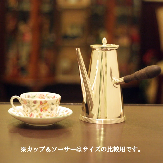 【中古】Tiffany(ティファニー)家庭用コーヒーポット tf-79【アンティーク】【アメリカ製】