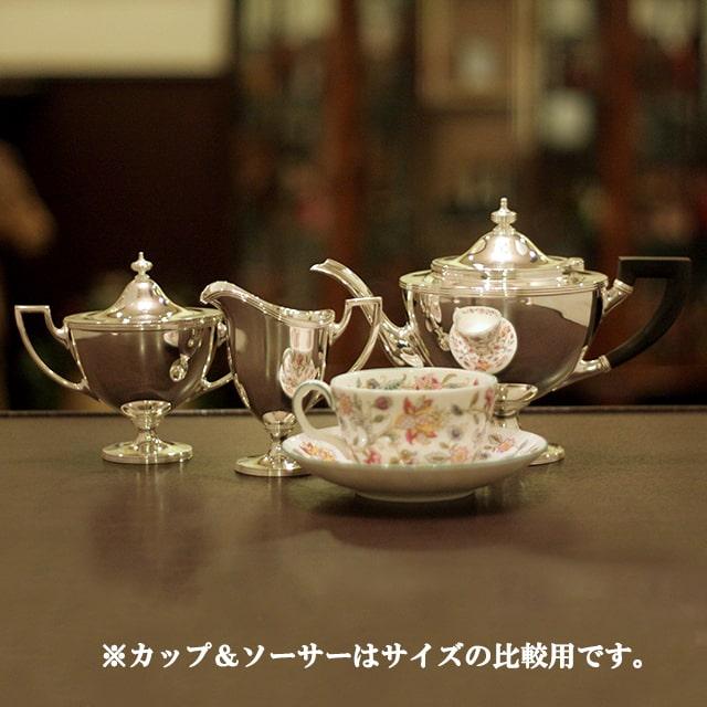【スターリングシルバー】【中古】Tiffany(ティファニー)家庭用3点ティーセット tf-93【アンティーク】【アメリカ製】【シルバー】