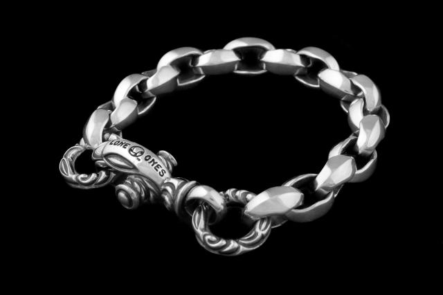 Silk Link Bracelet Medium (Crane Circle) Medium -シルクリンクブレスレット ミディアム クレーンサークル ミディアム-