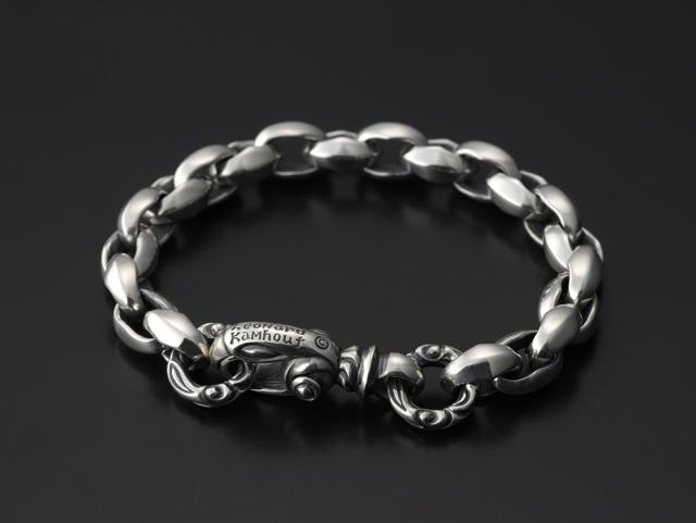 Silk Link Bracelet Small (Cygnet Circle) Long -シルクリンクブレスレット スモール シグネットサークル ロング-