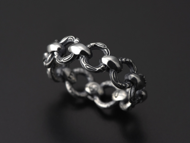 Mini Silk Link and Crane Ring -ミニシルクリンク&クレーンリング-