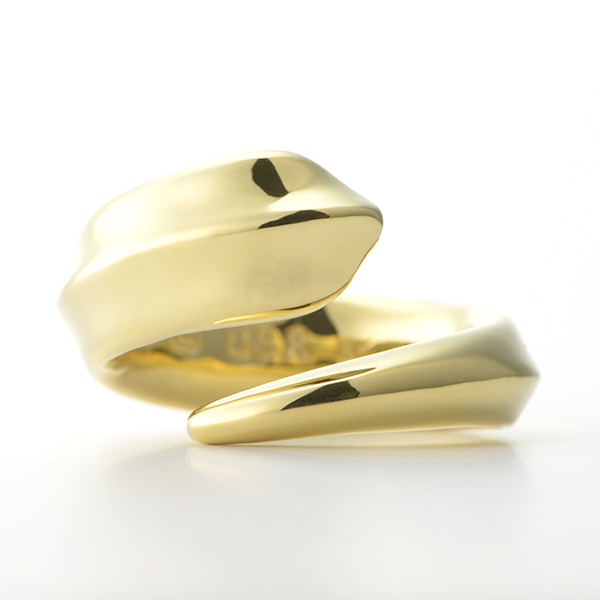 Flow Ring -フローリング- イエローゴールド
