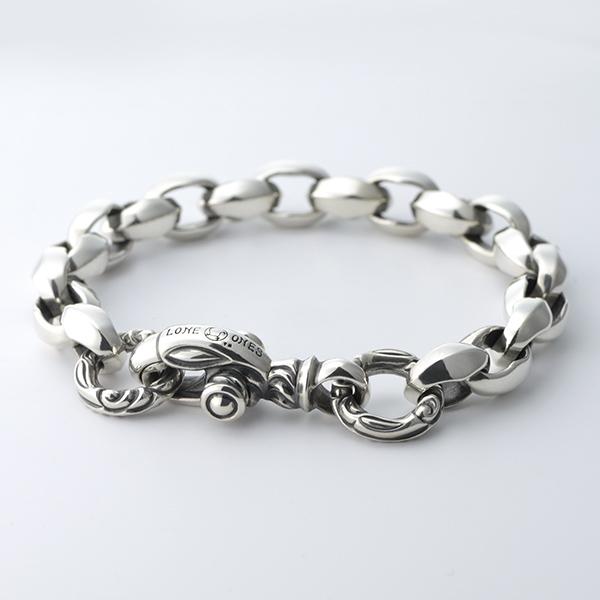 Silk Link Bracelet Medium (Crane Circle) Long --シルクリンクブレスレット ミディアム クレーンサークル ロング-