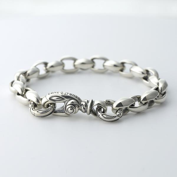 Silk Link Bracelet Small (Cygnet Circle) Medium -シルクリンクブレスレット スモール シグネットサークル-