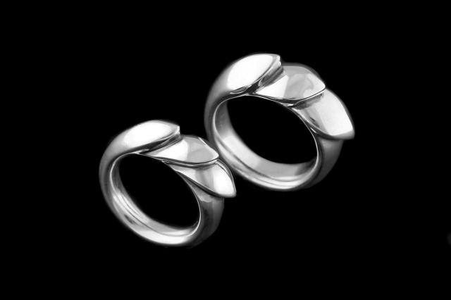 K&F (Kisses) Ring L -キスアンドフローリング ラージ-