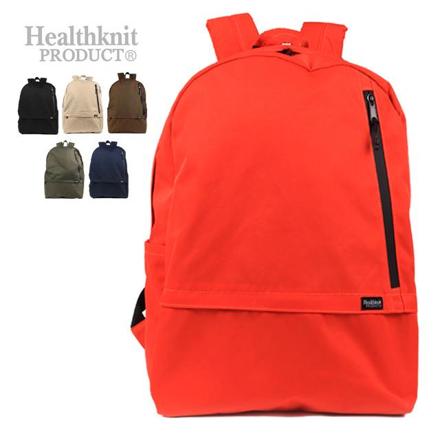 Healthknit Product 撥水ナイロン11ポケットリュック HKB-1156