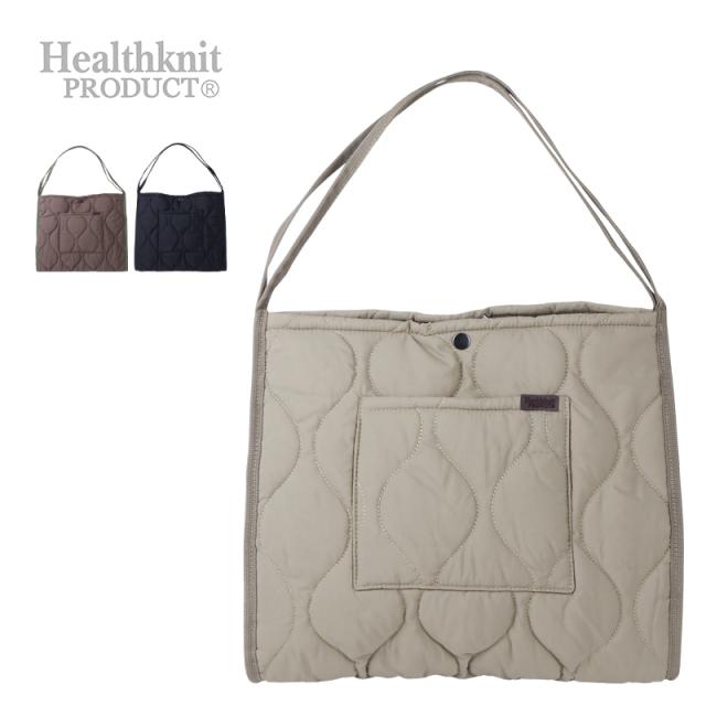 Healthknit Product キルトMatNylon2WAYトート HKB-1216