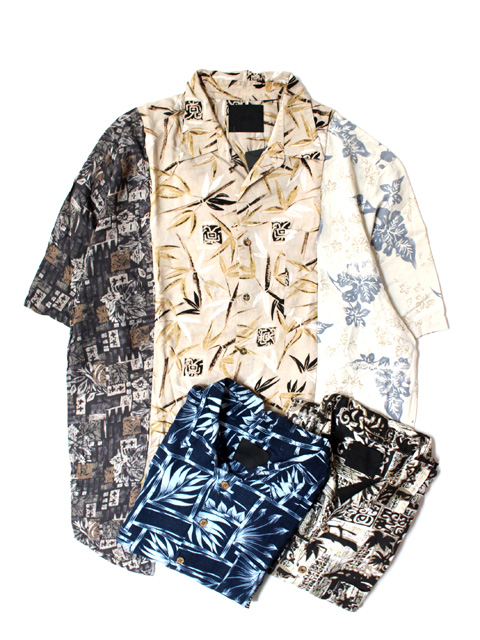 【70%OFF】WEYEP remake 3 panel aloha shirt