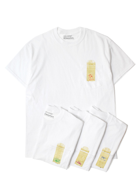 【40%OFF】WILL HAPPINESS FIND ME Graham MacIndoe Pocket TEE