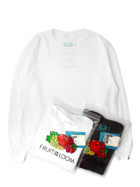 Hombre Nino ×FRUIT OF THE LOOM 2PACK L/S TEE(長袖)