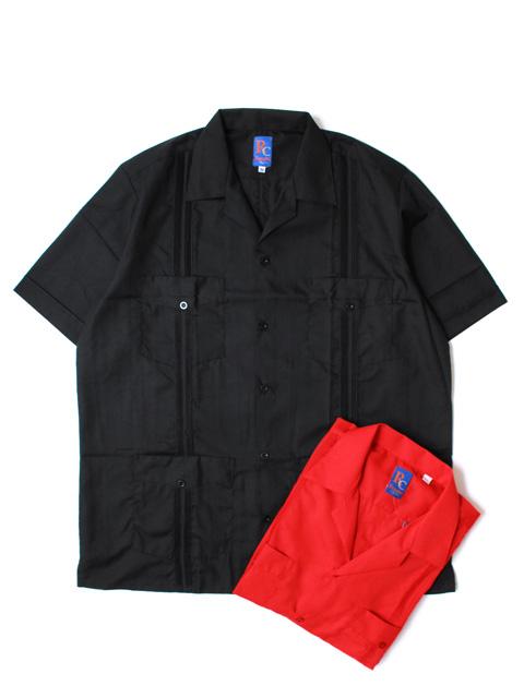 【50%OFF】Renato collezione  Basic Guayabera Shirts