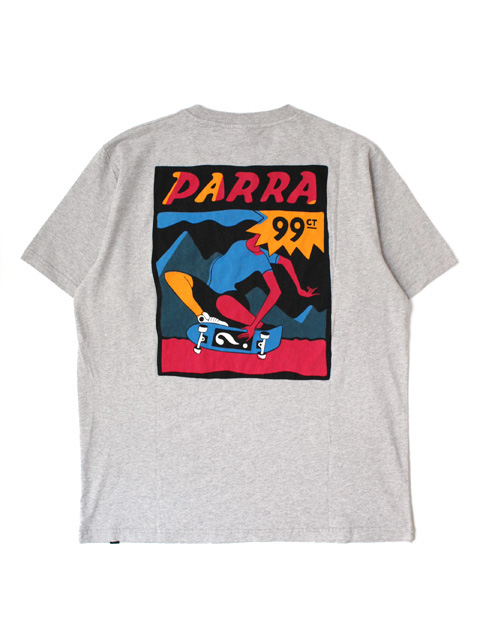 【30%OFF】by Parra t-shirt indy tuck knee