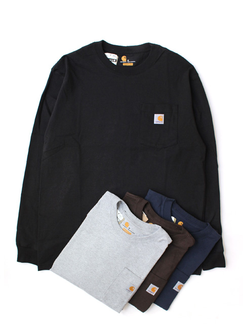 【20%OFF】Carhartt POCKET L/S TEE(長袖)