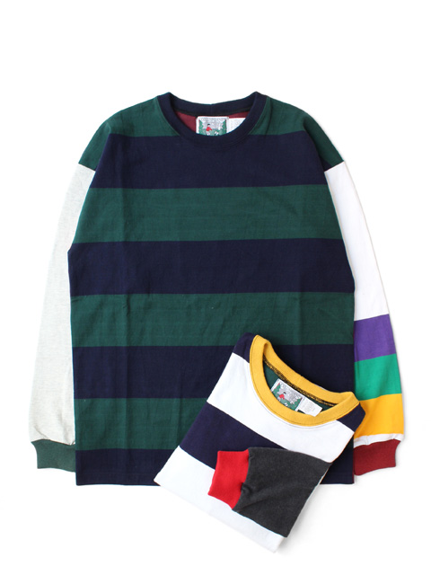 COLUMBIA KNIT 1000PJ PRACTIC RUGBY CREW -CRAZY-