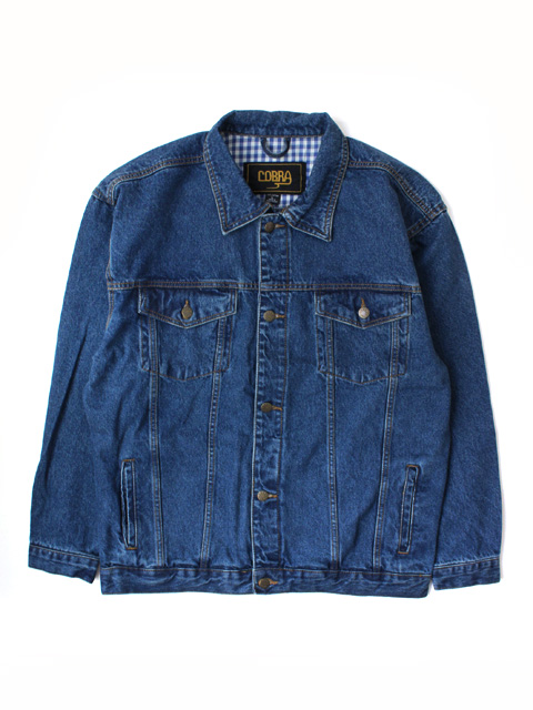 COBRA CAPS Classic Washed Jean Jacket