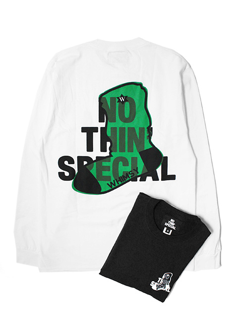 Nothin'Special x Whimsy LOGO LONG SLEEVE