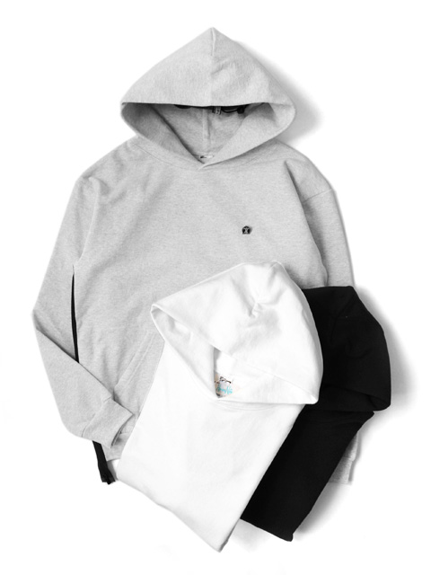 Hombre Nino VENTILATION HOODED SWEAT SHIRT -LOS ANGELES APPAREL-