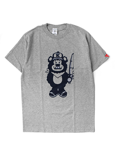 【40%OFF】KENS iVY FISHING BEAR BOY S/S TEE